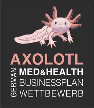 Axolotl Med & Health Logo
